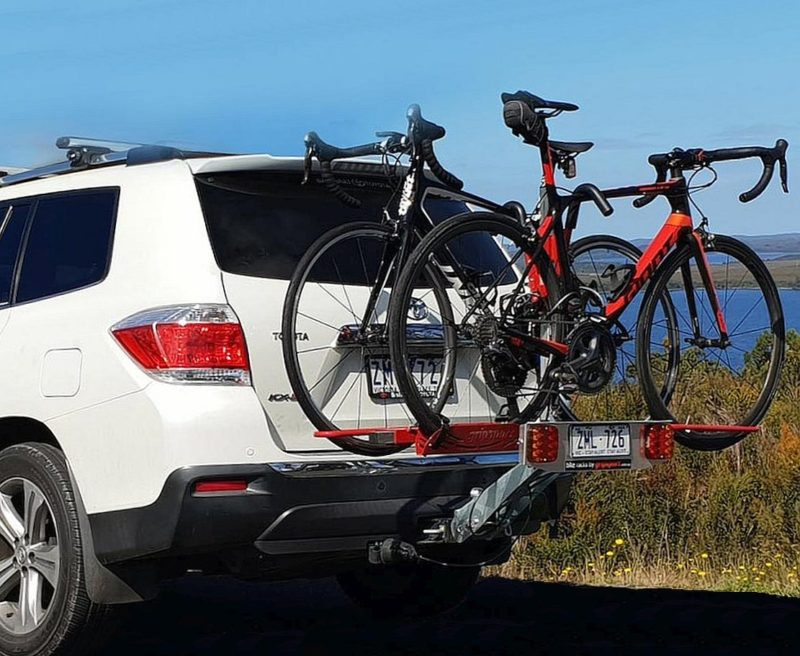 Gripsport bike rack car