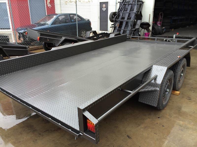 Car Carrier Trailers - MurrayFab Engineering Albury Wodonga